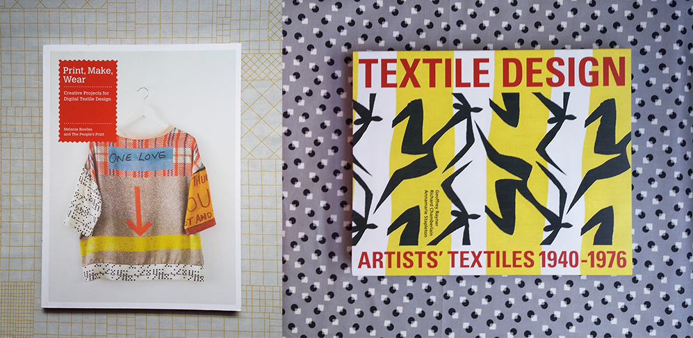 books on textile design