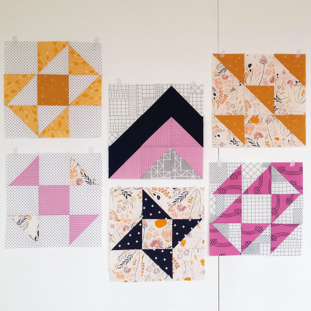 Modern HST Blocks by Blossom Heart Quilts