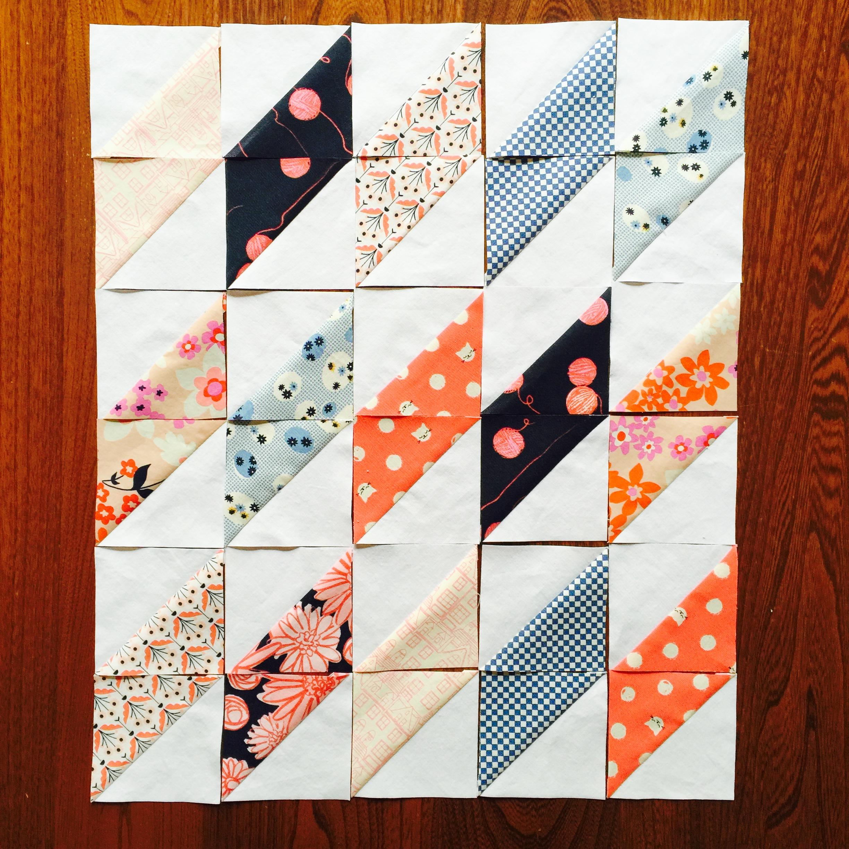 Mini Quilt Tutorial Patch Dot