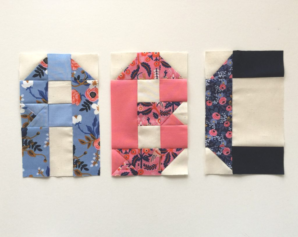 Alphabet Quilt Tutorial