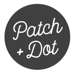 Patch and Dot, easy patchwork and sewing projects
