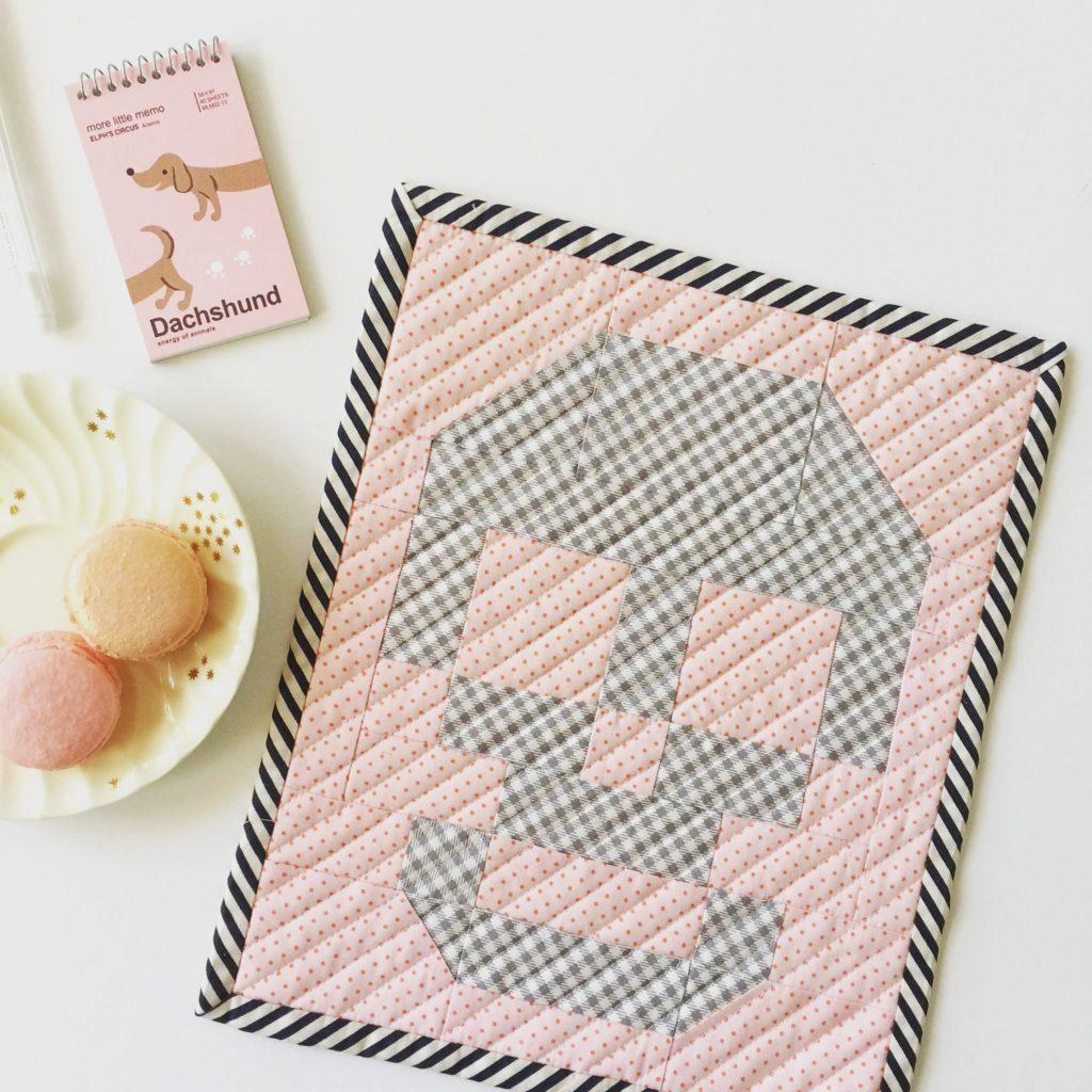Skull Patchwork mini quilt patterns