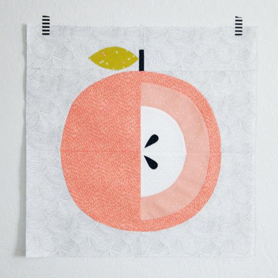 Apple Core Mini Quilt Pattern