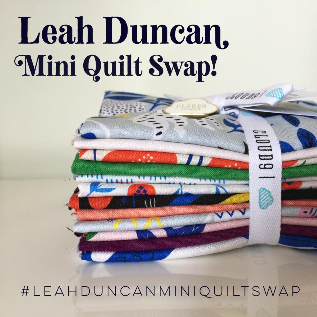 Leah Duncan Mini Quilt Swap