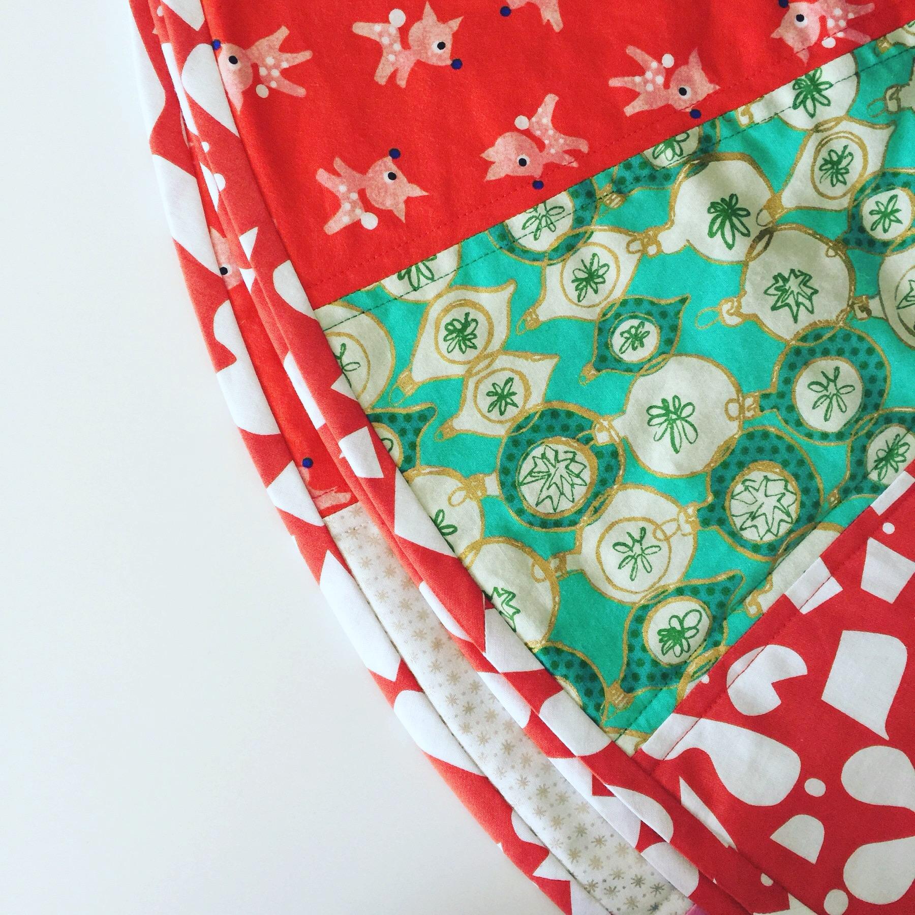 Candy Stripe Tree Skirt