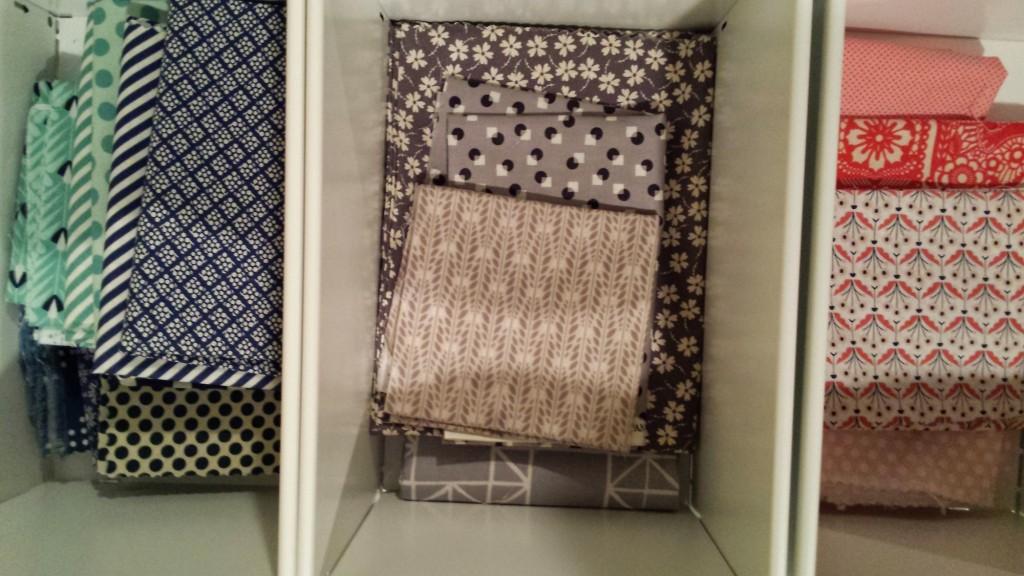 fabric stash sort