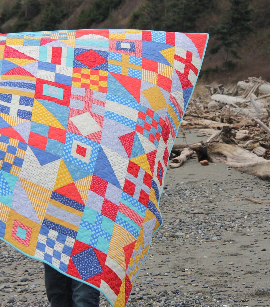 Nautical Quilt pattern by Cluck Cluck Sew