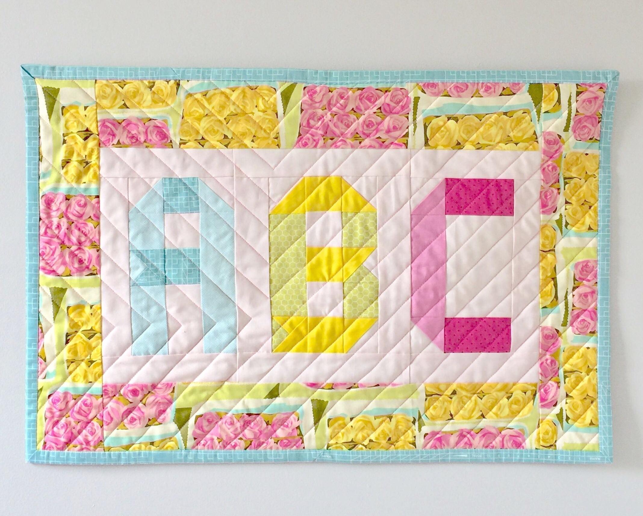 ABC Mini Quilt