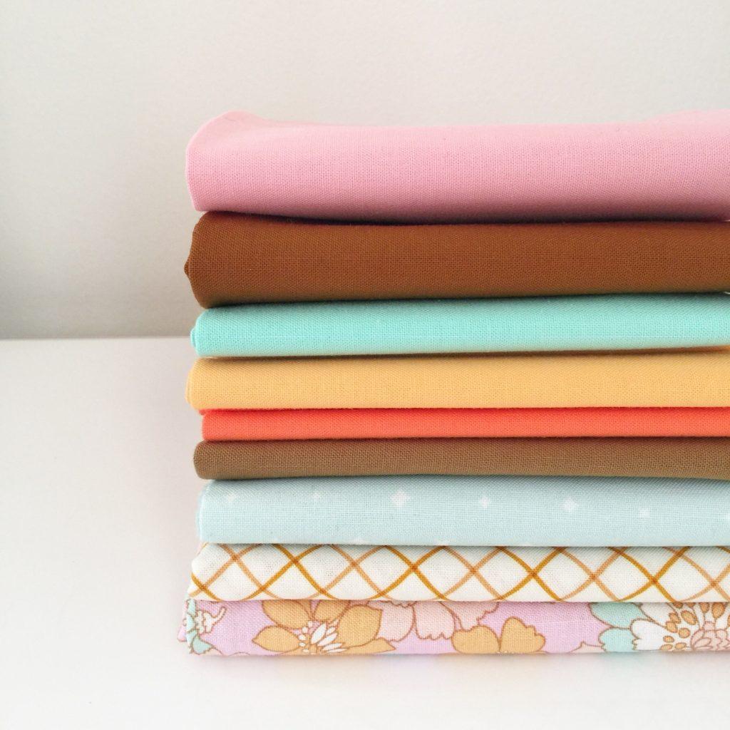 Fabric Pull for Quilt Along Sampler