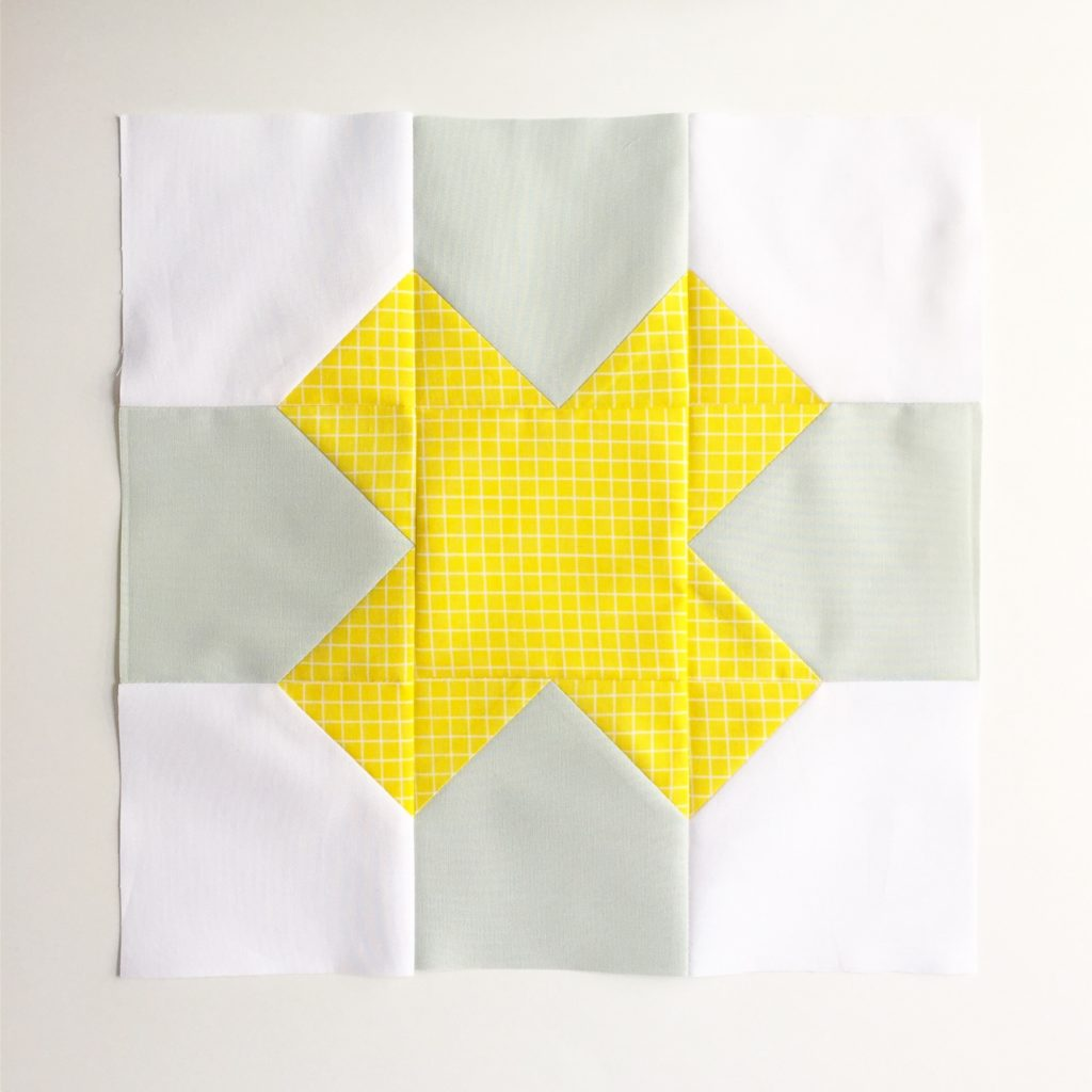 Tic Toc Toe quilt block