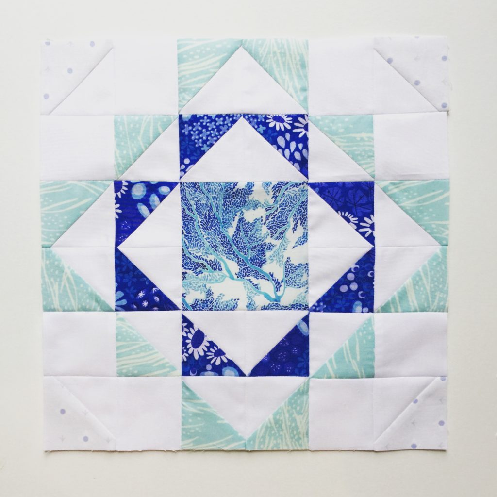 Ripples quilt block