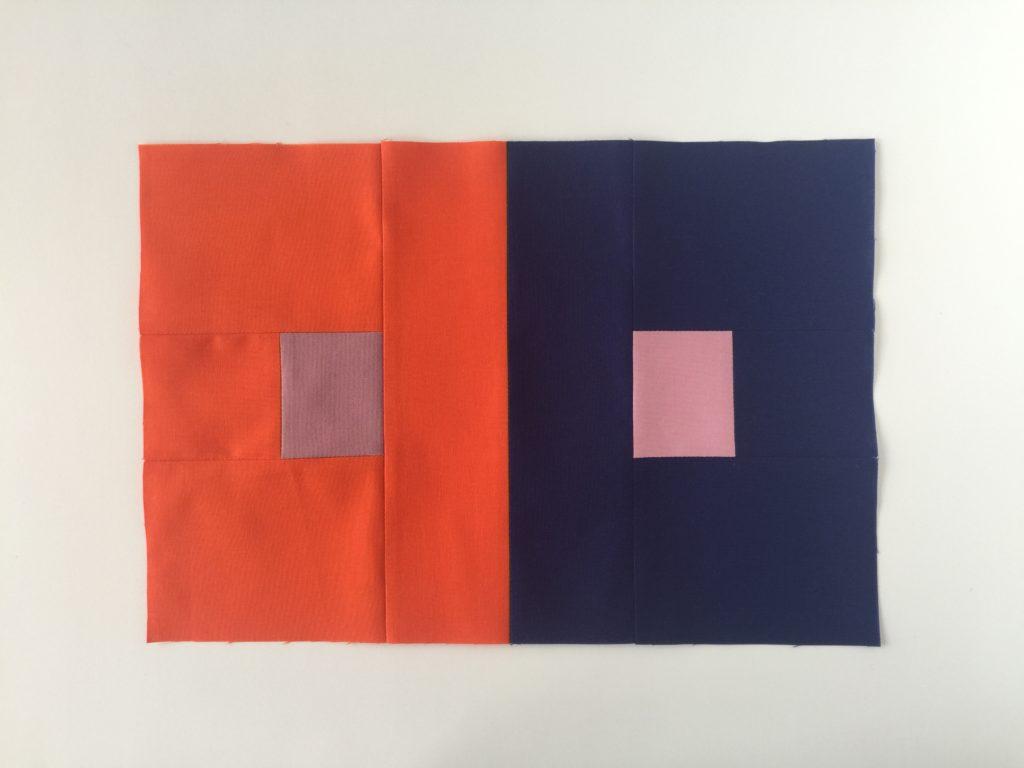 Josef Albers quilt block