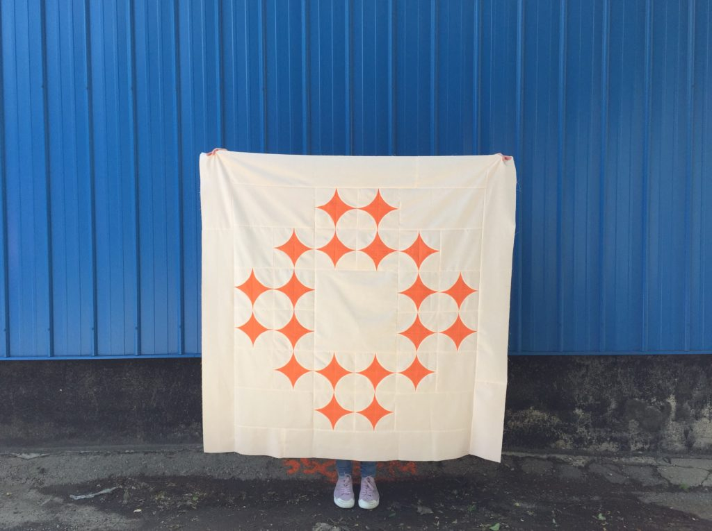 Parthenos Quilt Pantone Quilt Challenge