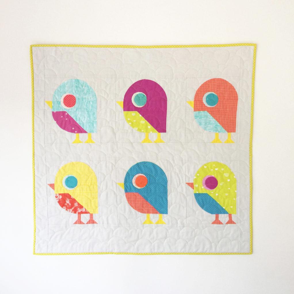 Little Bird Quilt Patch and Dot