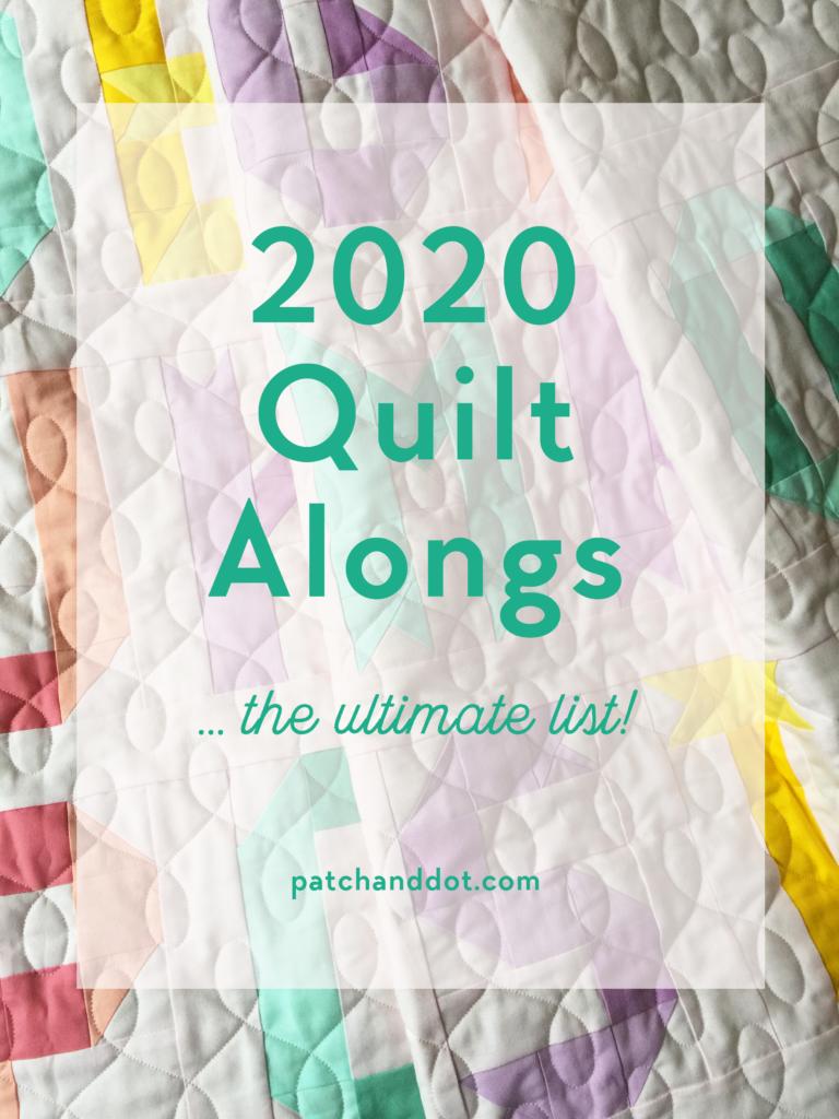 2020 Quilt Along List