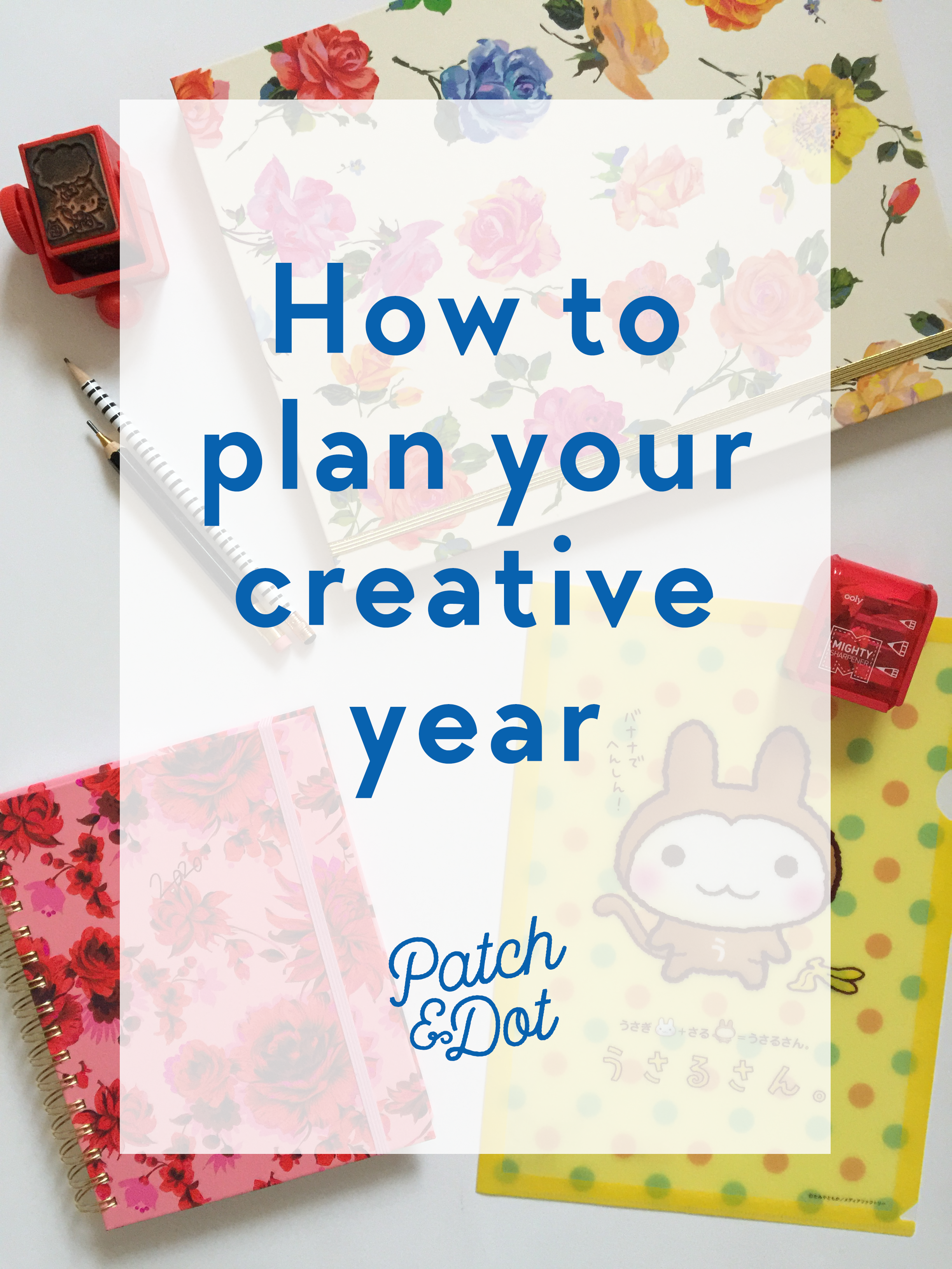 Plan your creative year with online courses