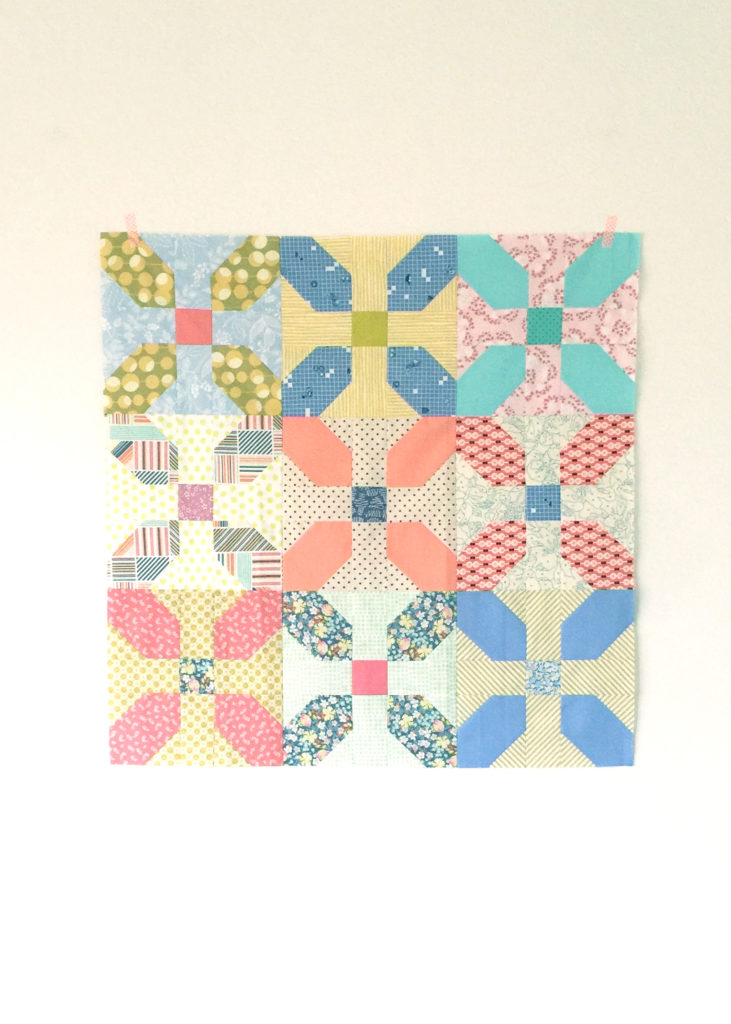 Scrappy Golightly Baby Quilt