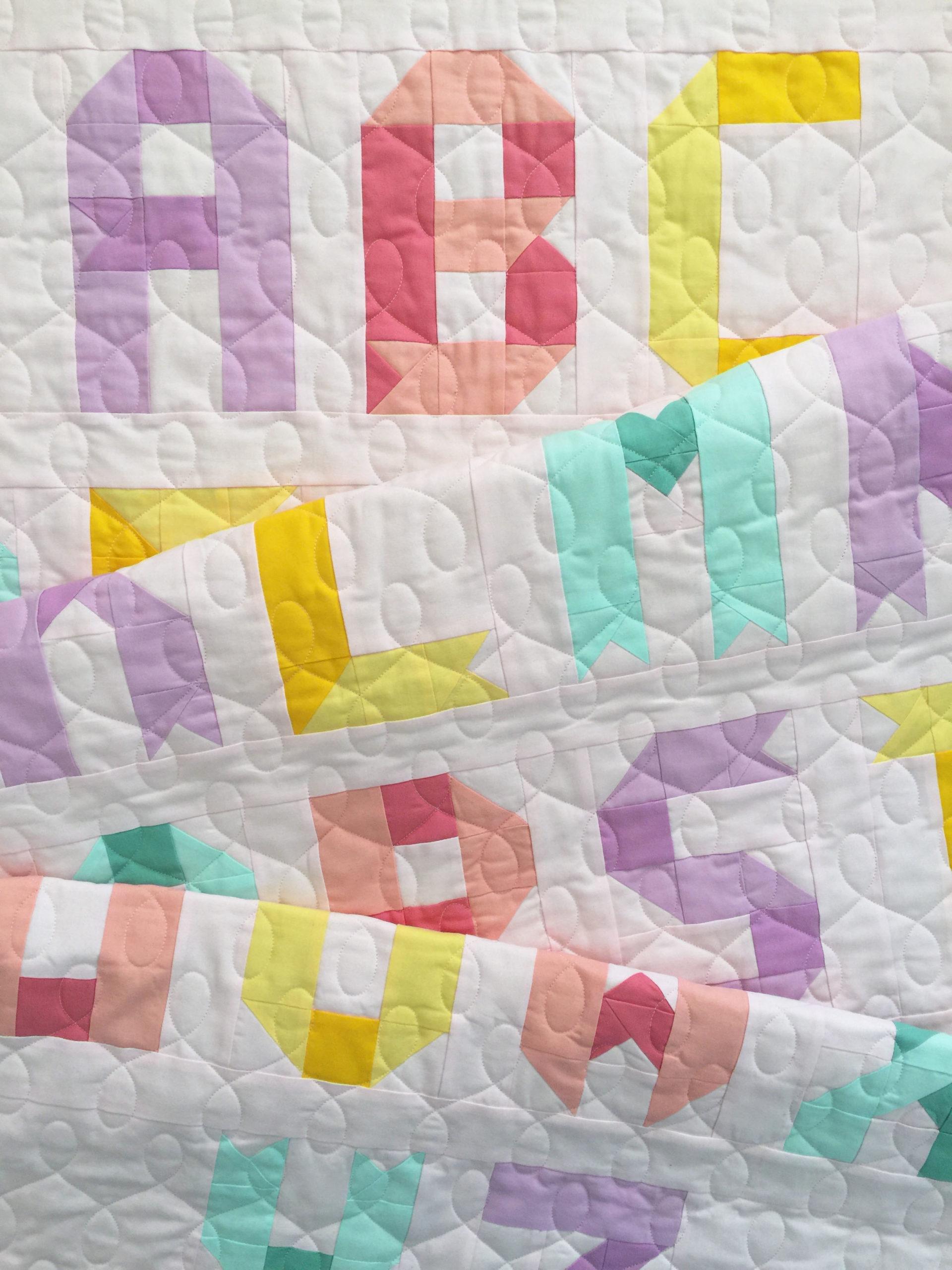 Alphabet Quilt Pattern